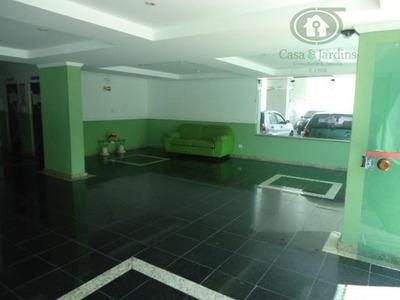 Sala Living Com Vaga De Garagem No Centro De São Vicente - Codigo: Ap4329 - Ap4329