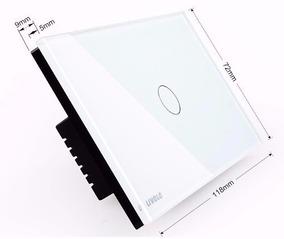 Interruptor Touch Livolo 1 Via - Pronta Entrega