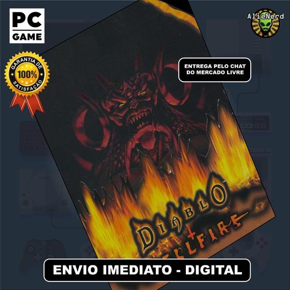 Diablo + Expansão Hellfire - Original - Pc - Mídia Digital