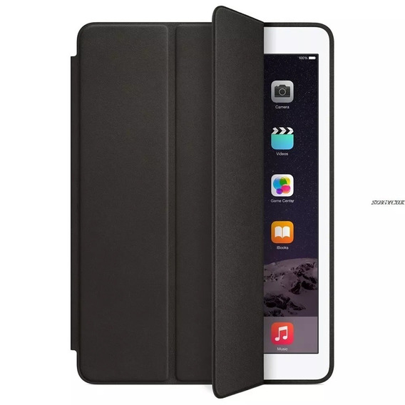 Capa Smart Case iPad 2 3 4 Apple Preta