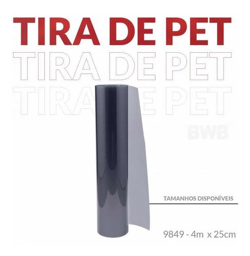 Imagem 1 de 3 de 1 Rolo De Tira De Pet Bolo Tisunami Torre 25cm X 4m Bwb