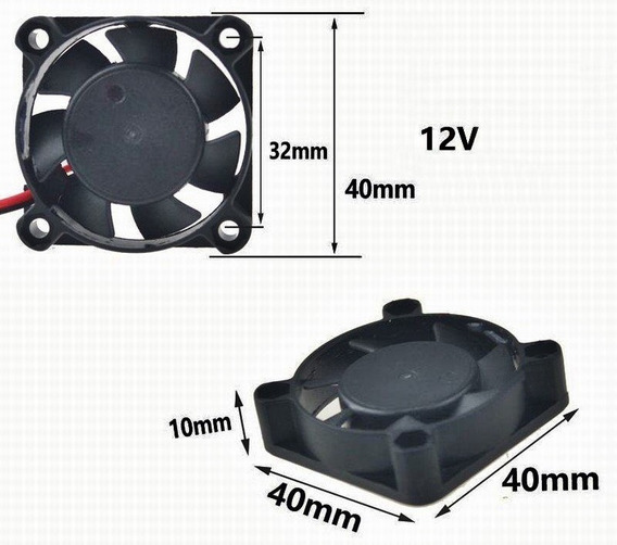 Kit Com 5 Mini Coolers 12v Para Leds, Módulos E Processadores