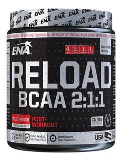 Reload Bcaa Ena 2:1:1 X 220gr Aminoacidos Mejor Recuperacion
