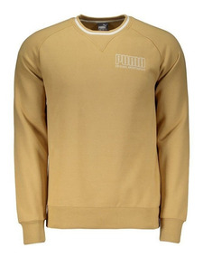 Moletom Puma Athletics Crew Bege