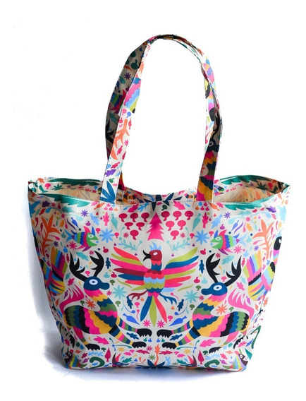Bolsa Para Playa O Super O Casual Diseño Original Tenango