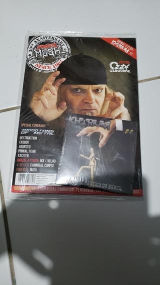 Revista Fanzine Mosh Volume 18. Com Cd . Lacrada