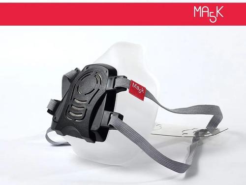 Imagen 1 de 7 de Mascara Barbijo Protector Reutilizable Incluye 30 Filtros