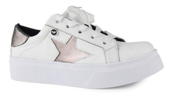 Zapatillas De Mujer De Cuero Zapatos Kissimmee - Ferraro