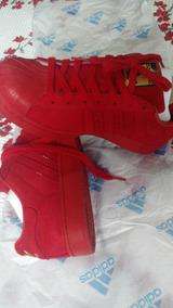 Tenis adidas Superstar Vermelho Original
