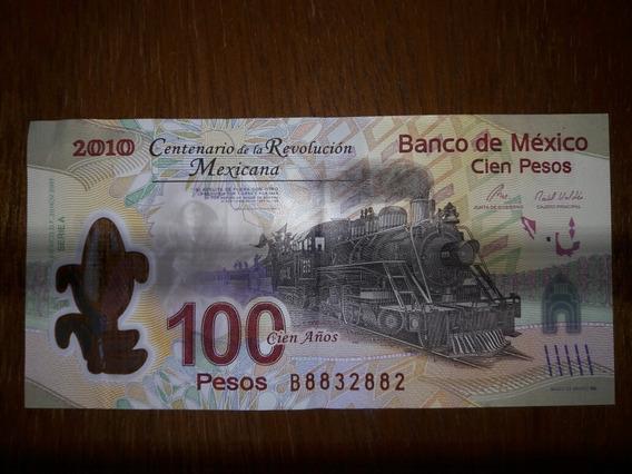 Billete 100 Pesos Centenario De La Revolución Mexicana 2010