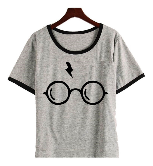 Remera Cicatriz Anteojos Harry Potter Mujer