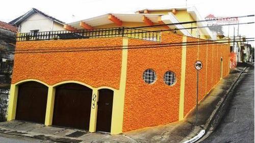 Imagem 1 de 22 de Sobrado Com 3 Dormitórios À Venda, 246 M² Por R$ 912.000,00 - Penha - São Paulo/sp - So1288