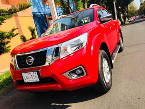 Nissan Frontier Np 300 Pick Up Le Color Rojo Como Nueva