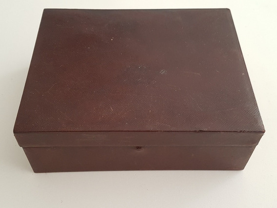 Caixa Antiga Madeira Com Divisorias