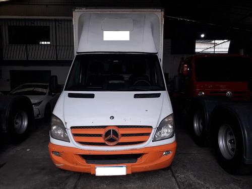 Imagem 1 de 9 de M. Benz Sprinter 515 Bau C/ Plataforma Hidraulica 2012/2013