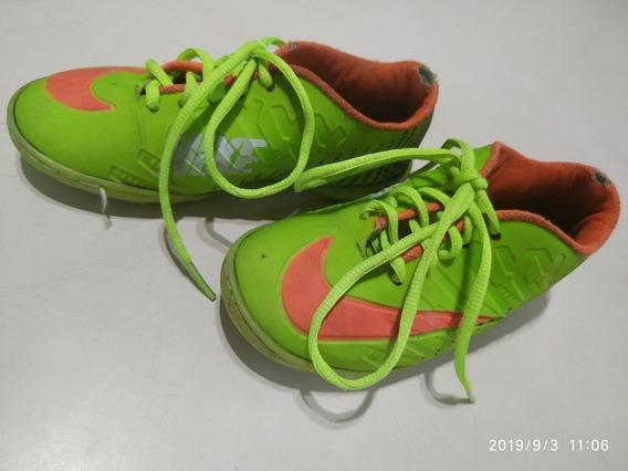 Zapatos Para Niño Nike Cr7 Micro Tacos Mercurial Talla 31