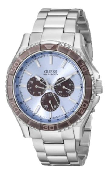 Relógio Guess Masculino Prateado 92564g0gsna1 Multifunção