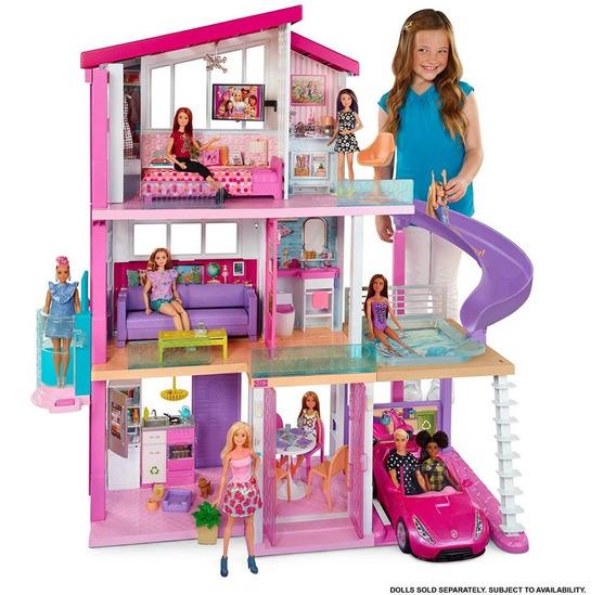 Casa Dos Sonhos Da Barbie Casa Da Barbie 3 Andares 75cm