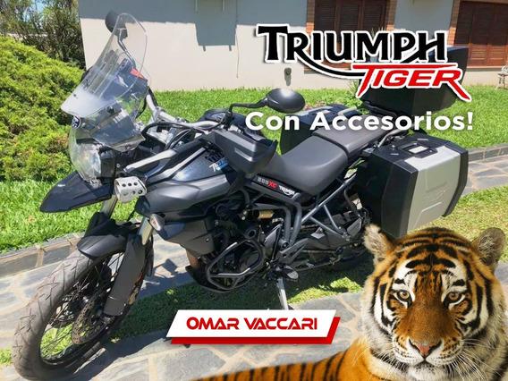 Triumph Tiger 800 Xc C/accesorios, Muy Buena