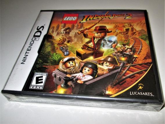 Lego Indiana Jones 2! P/ Ds! Único Novo De Fábrica No M. L!