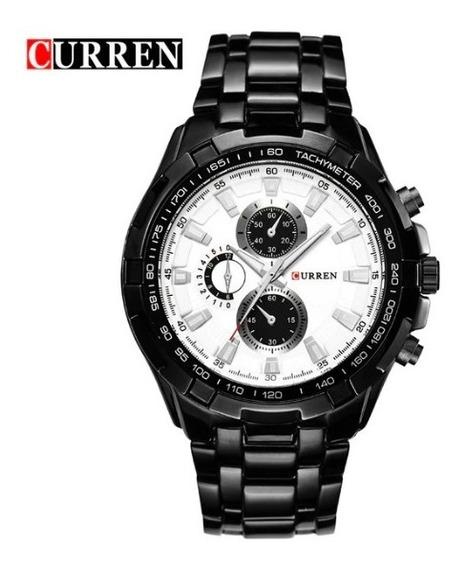 Loucura Relógio Masculino Curren Mod.8023 Original