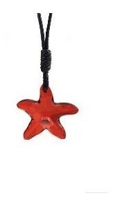 Swarovski Elements Oferta Lindo Collar Estrella De Mar Rojo