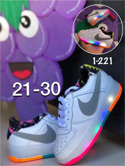 Zapatos Deportivos Para Niños Y Niñas Con Luces