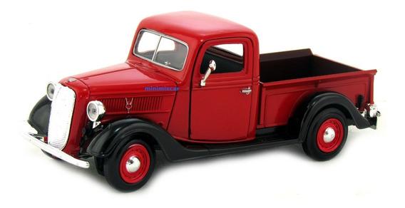 Ford Pickup 1937 Miniatura De Coleção Escala 1,24 (scania)