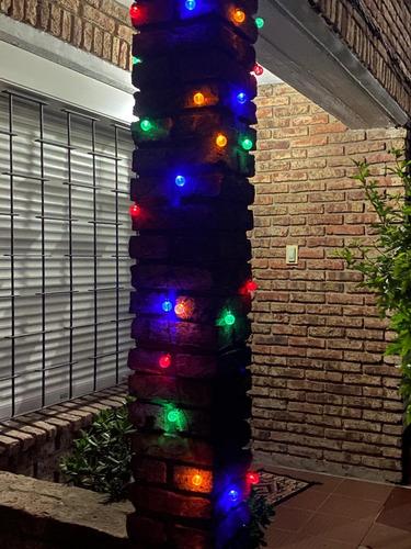 Imagen 1 de 10 de Luces Carga Solar, Para Exterior Roja, Verde Azul Y Amarillo