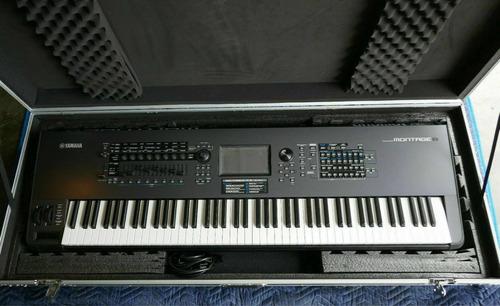 Imagen 1 de 1 de Yamaha Montage 8 Synthesizer 88 Key