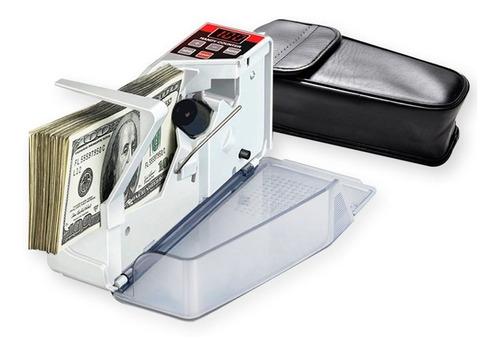 Contador De Billetes Portatil Maquina Cuenta Dinero Rápido