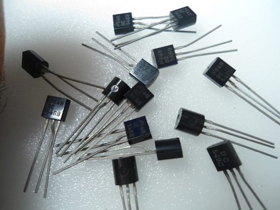 Transistor / Bc546b - Embalagem Com 10 Peças
