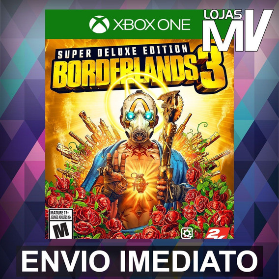Borderlands 3 Super Deluxe Xbox One Código 25 Digitos
