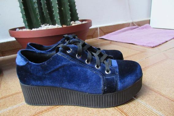 Sapato Veludo Confortável
