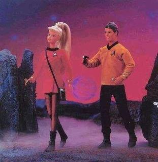 Barbie Y Ken Star Trek Giftset (edición Del Colector Del 30m