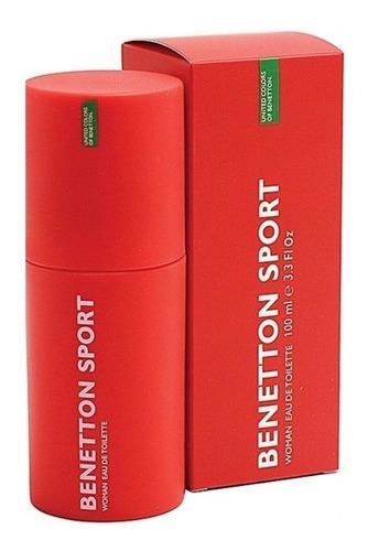 Perfume Benetton Sport Original 100ml Para Mujer