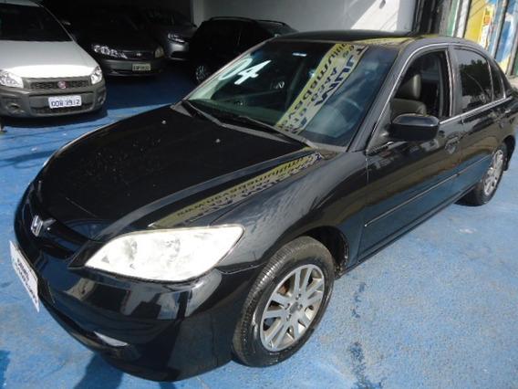 Honda Civic Lxl 1.7 Aut. 2004 Troco E Financio