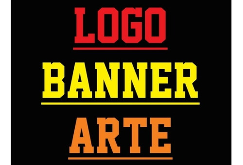 Logo Logotipo Arte  Banner Para Loja