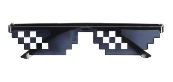 Gafas Pixeladas Turn Down For What - Minecraft 8 Bits Hombre