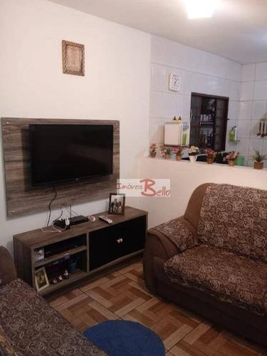Casa Com 2 Dormitórios À Venda, 100 M² Por R$ 240.000 - Parque São Francisco - Itatiba/sp - Ca1516