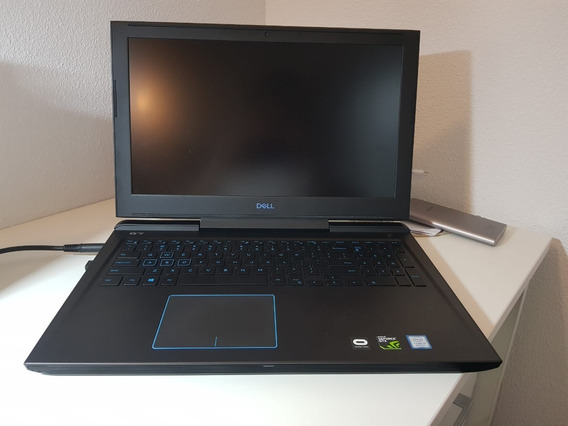Notebook Dell G7 Gaming I7 32gb Ssd 512gb Nvme Gtx 1060 6gb