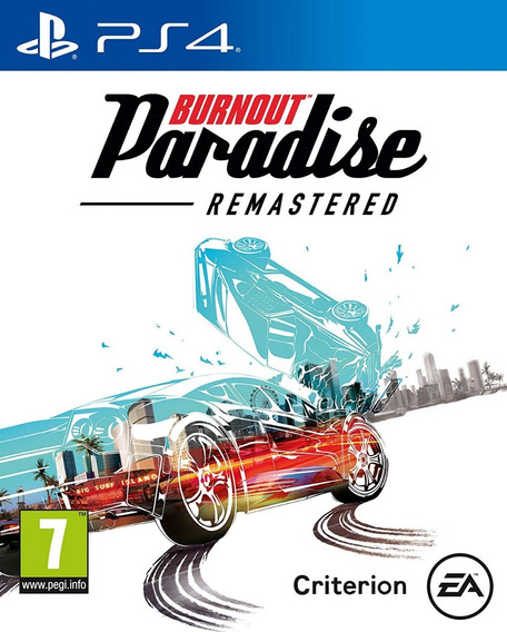 Burnout Paradise Remastered - Ps4 Mídia Física Lacrado