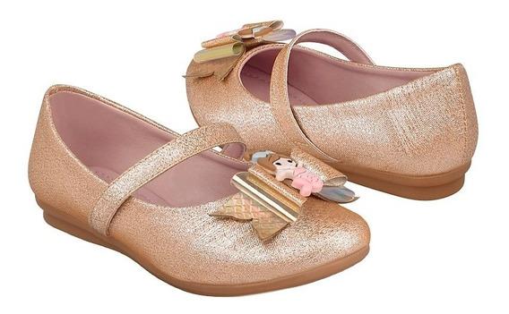 Zapatos Casuales Para Niña Miss Pink 181789 Oro Rosado