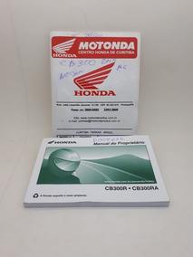 Manual Do Proprietário Honda Cb300r 300ra Original Usado