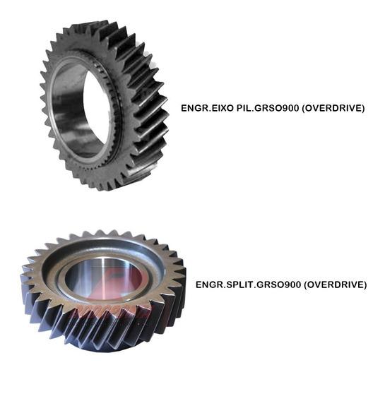 Casal Engrenagem Overdrive Grs0900 Split / Eixo Piloto