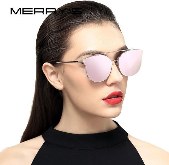 Óculos De Sol Feminino Luxo Polarizado Merry