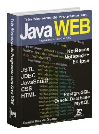 Livro De Programação Java Para Web - Crie Aplicação Completa
