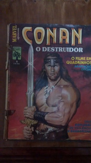 Hq Conan O Destruidor - Marvel