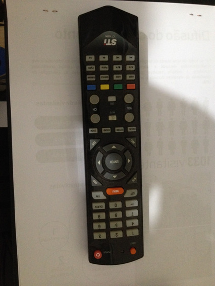 Controle Tv Sti Semp Toshiba