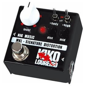 Pedal Nig Distortion Signature Kiko Loureiro - Frete Grátis